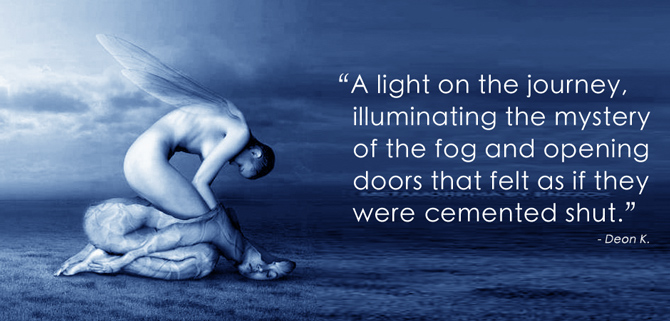 """A light on the journey, illuminating the mystery."""